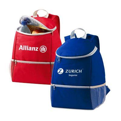 Promoline Brindes Personalizados - Bolsa mochila térmica para 12 litros