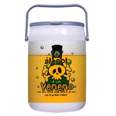 Promoline Brindes Personalizados - Cooler isotérmico inter para 16 latas