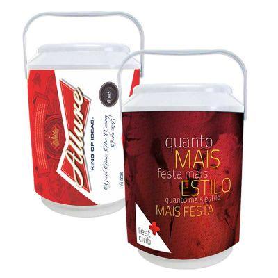 Promoline Brindes Personalizados - Cooler isotérmico midi p/ 10 latas
