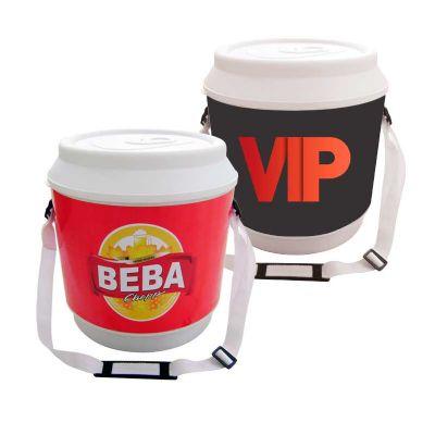 Promoline Brindes Personalizados - Cooler isotérmico maxi para 24 a 30 latas