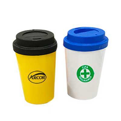 Promoline Brindes Personalizados - Copo Café com tampa