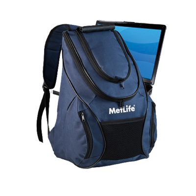 Promoline Brindes Personalizados - Mochila notebook 6 divisórias s/cirev. 50x32x20cm