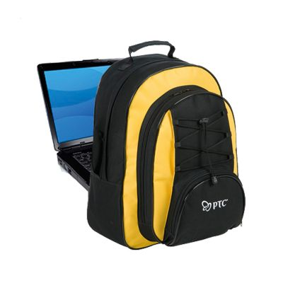 Promoline Brindes Personalizados - Mochila NoteBook 6 Divisórias 33x43x24