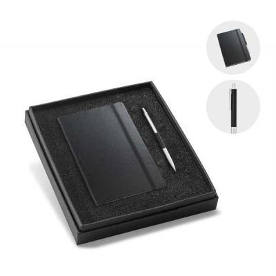 Queen's Brindes - Kit de caderno e esferográfica HEMINGWAY