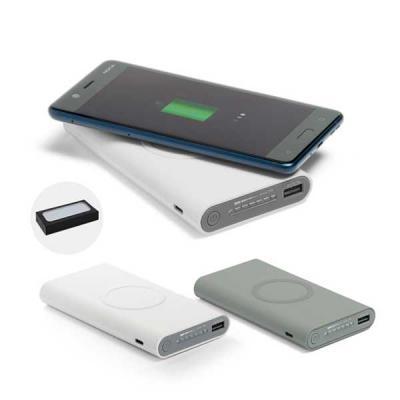 Queen's Brindes - Bateria portátil wireless