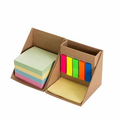 Queen's Brindes - Bloco de anotação cubo com sticky notes