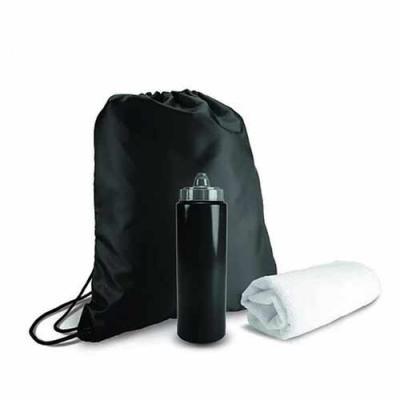 Queen's Brindes - Kit para academia com sacola tipo mochila