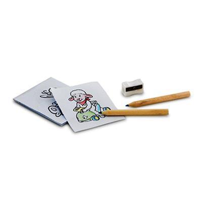 Queen's Brindes - Kit para pintar em caixa de cartão