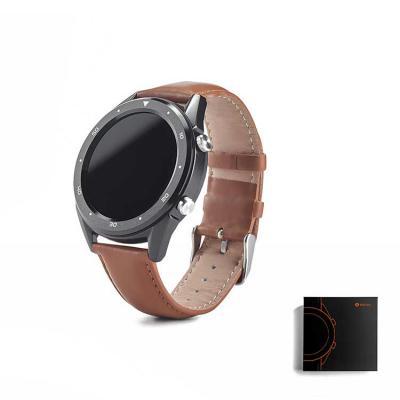 Queen's Brindes - O THIKER II é um moderno relógio inteligente com bracelete em pele que se adequa a diferentes ocasiões devido ao seu elegante design. Fornecido em cai...