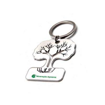 Servgela - Chaveiro de Metal Árvore Personalizado