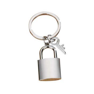 Servgela - Chaveiro de Metal Cadeado Personalizado