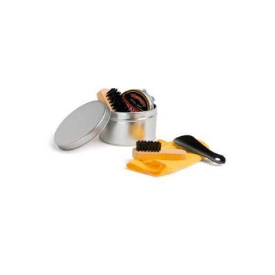 Servgela - Kit caixa de Engraxar e Polimento de Sapato Personalizado