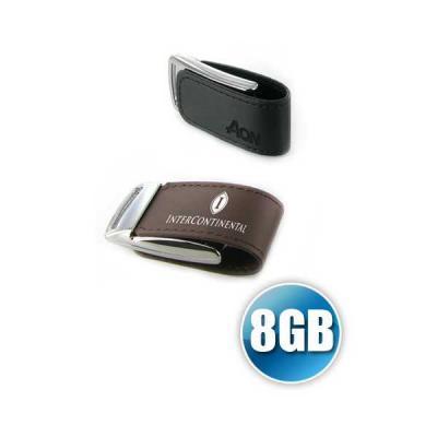 Servgela - Pen drive 8 GB em Couro