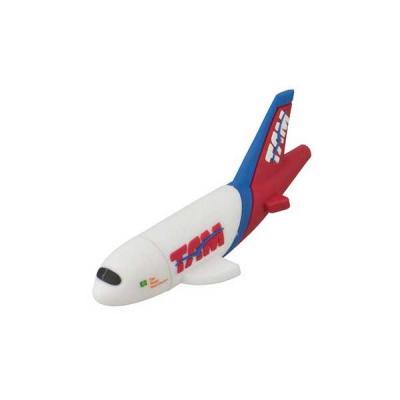 Servgela - Pen drive Emborrachado Avião 3D