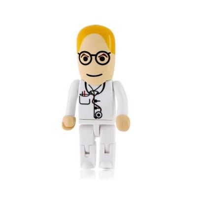 Servgela - Pen Drive 4GB Personalizado Médico