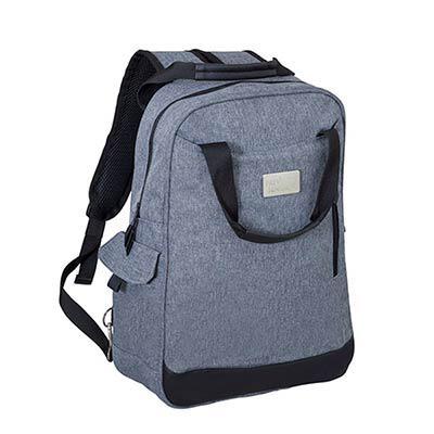 Unibag - Mochila em linho personalizada para notebook.