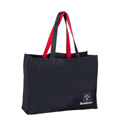 Unibag - Sacola  em tecido Nylom  para congresso e eventos personalizada com logo