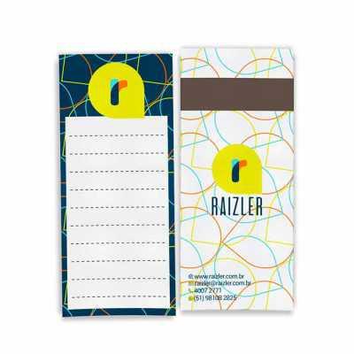 Raizler - Bloco de Anotações Magnético