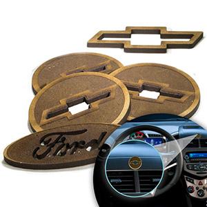 SP Ecologia - Aromatizador ecológico para automóveis feito em Madeira e no formato do seu Logo