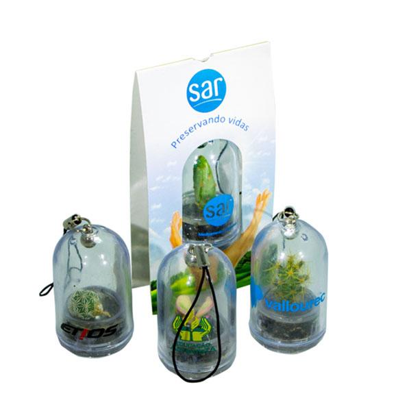 SP Ecologia - Chaveiro ecológico