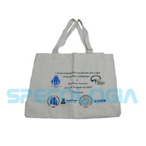 SP Ecologia - Eco bag com gravação personalizável.