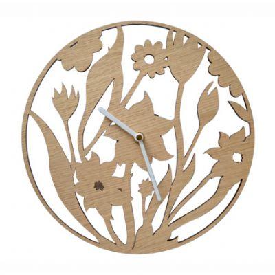 SP Ecologia - Relógio de madeira vazado