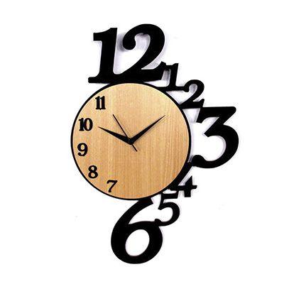 SP Ecologia - Relógio ecológico de madeira