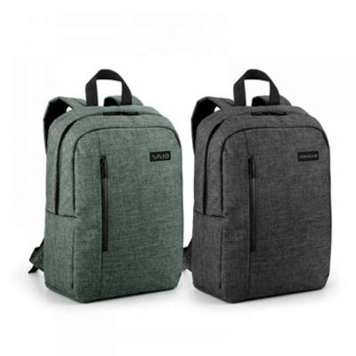 t7-promocional - Mochila Para Notebook 600d De Alta Densidade, Compartimento Forrado, Com 2 Divisórias Almofadadas Para Notebook Até 14 E Tablet 97, Bolso Frontal E 1...
