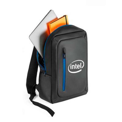 T7 Promocional - Mochila para notebook em poliéster 600d impermeável. Compartimento principal almofadado para notebook até 15.6. Bolso frontal, zípers impermeáveis e b...