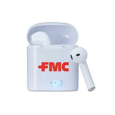 T7 Promocional - Fone de ouvido com conexão via bluetooth, microfone para atender ligações e com alcance de até 10 metros.  O carregamento do fone é feito através do e...