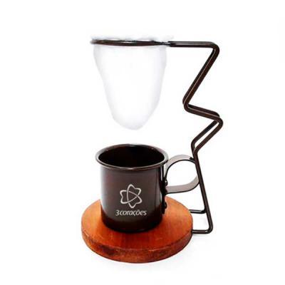 T7 Promocional - Suporte para coador de café ou chá individual