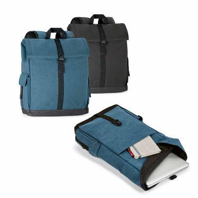 T7 Promocional - Mochila para notebook em algodão canvas pré-lavado