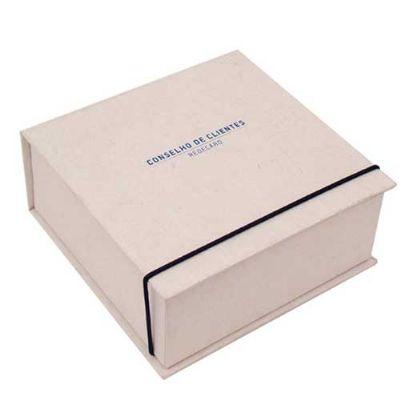 Caixas & Idéias - Caixa articulada com elástico