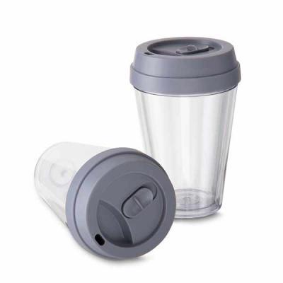 GH Brindes - Copo Plástico com Tampa Personalizado