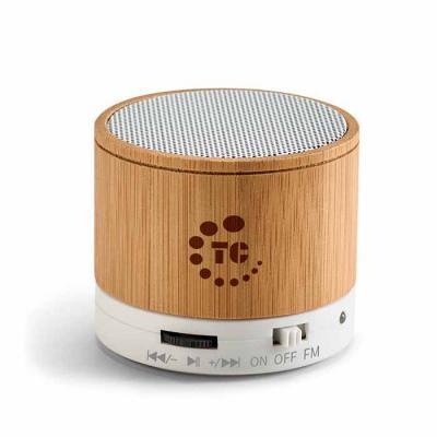 GH Brindes - Caixa de som com microfone