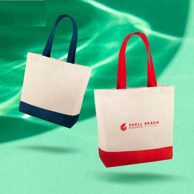 GH Brindes - Sacola. 100% algodão canvas: 280 g/m². Com bolso interior e alças de 65 cm. 460 x 400 x 150 mm