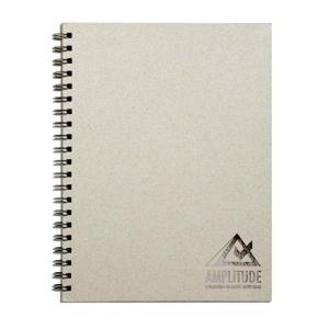 dz9-grafica - Caderno Personalizado - Linha reciclado. Formatos: 21 x 28 cm, 18 x 25 cm, 15 x 21 cm e personalizado.