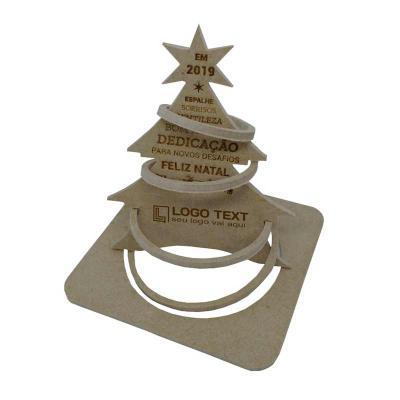 Ecologik Sustentáveis - Cartão postal de natal 3D - modelo aro