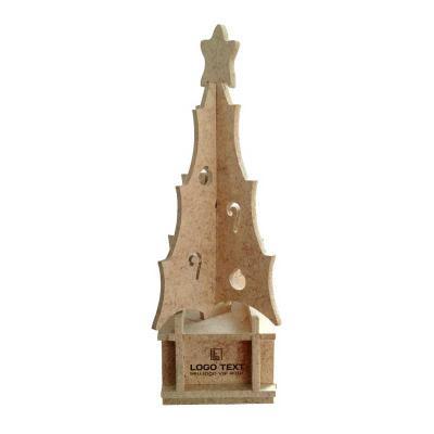 Ecologik Sustentáveis - Árvore de Natal Ecológica - Quebra Cabeça 3D