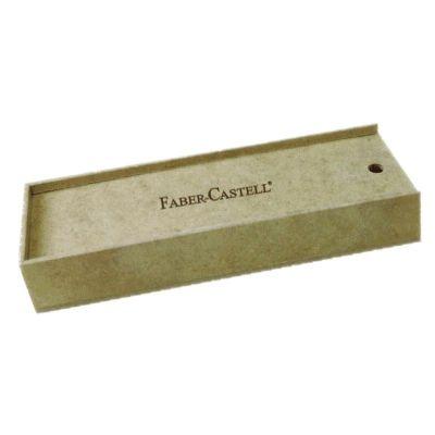 Ecologik Sustentáveis - Caixa personalizada para caneta/Lápis, produzida em material 100% proveniente de reflorestamento. Gravação de logomarca no sistema Hotstamping sem emi...