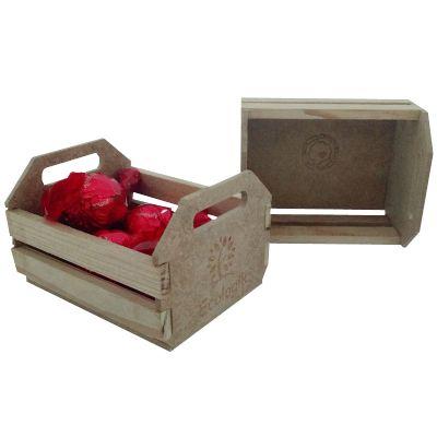 Ecologik Sustentáveis - Mini caixote - embalagem ecológica