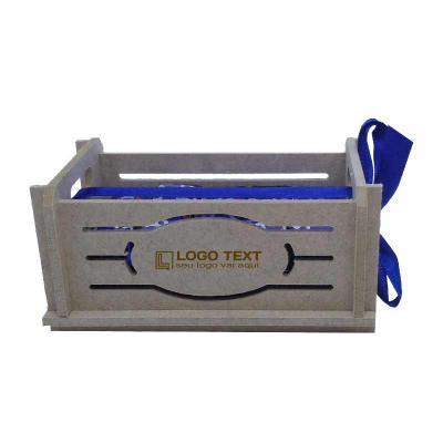 Ecologik Sustentáveis - Mini caixote produzida em material 100% proveniente de reflorestamento. Gravação de logomarca no sistema Hotstamping sem emissão de CO² Dimensões exte...
