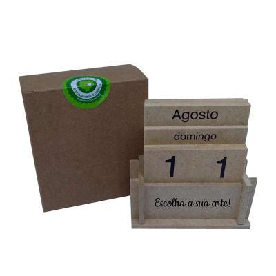 Ecologik Sustentáveis - Calendário permanente - DATABOX