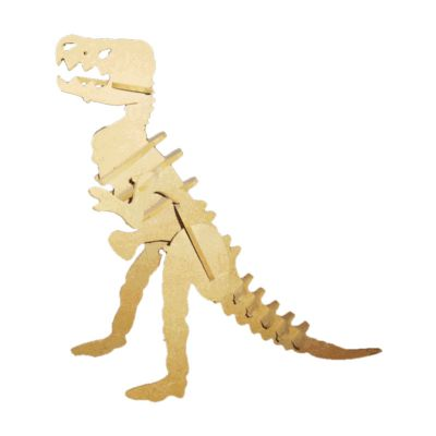 ecologik-sustentaveis - Quebra-cabeça 3D Dinossauro T.Rex