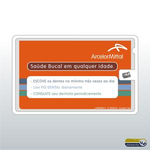 0602f96c6 Cartão de Visita personalizado om Fio Dental (Etiqueta impressa ...