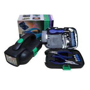 Armazém Brasileiro - Lanterna personalizada com estojo de ferramentas incluso, fácil de transportar com ótima iluminação..Leve praticidade aos seus clientes e proteja-os d...