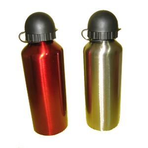 Armazém Brasileiro - Squeeze personalizada, confeccionada em aço inox em diversas cores, capacidade para até 500 ml e tampa preta plástica acoplada. Acompanhe seus cliente...