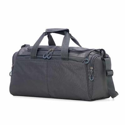 Potencial Brindes - Bolsa Oxford impermeável com capacidade de 28 litros. Possui compartimento principal com amplo espaço, bolso frontal longo e dois bolsos laterais. A b...