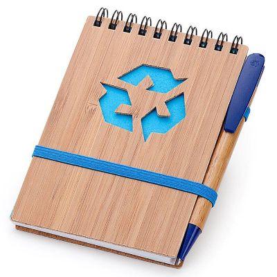 Potencial Brindes - Bloco de anotações acompanha por caneta, com gravação em silk.