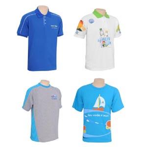Potencial Brindes - Camisas e camisetas confeccionadas nos mais variados modelos e tamanhos.